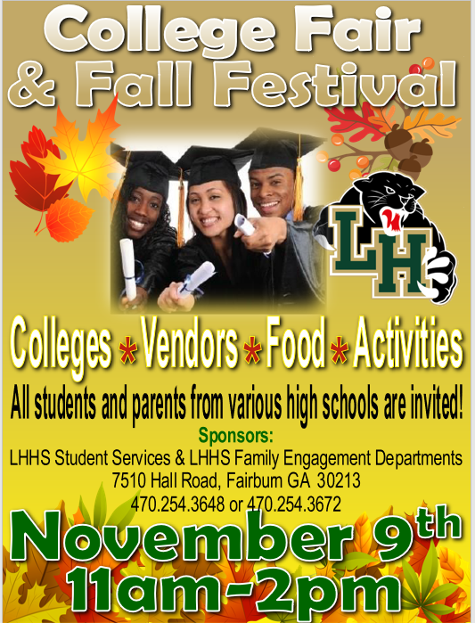 College Fair and Fall Festival