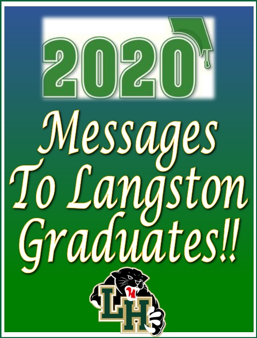 Messages to Graduates!!  (Click here to view messages)