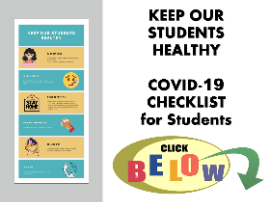 covid-19 checklist for students