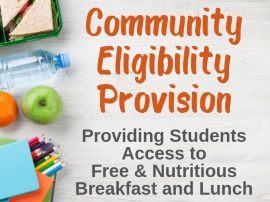 Community Eligibility Program picture with food