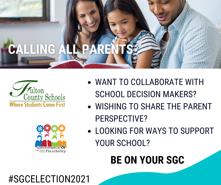 Student Governance Council Parent Election 2021 Information