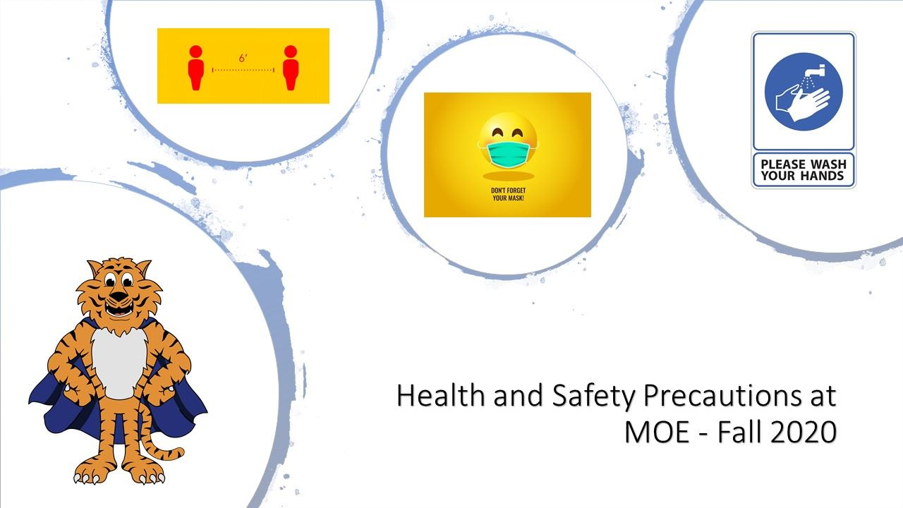MOE's Health and Safety Precautions 2020