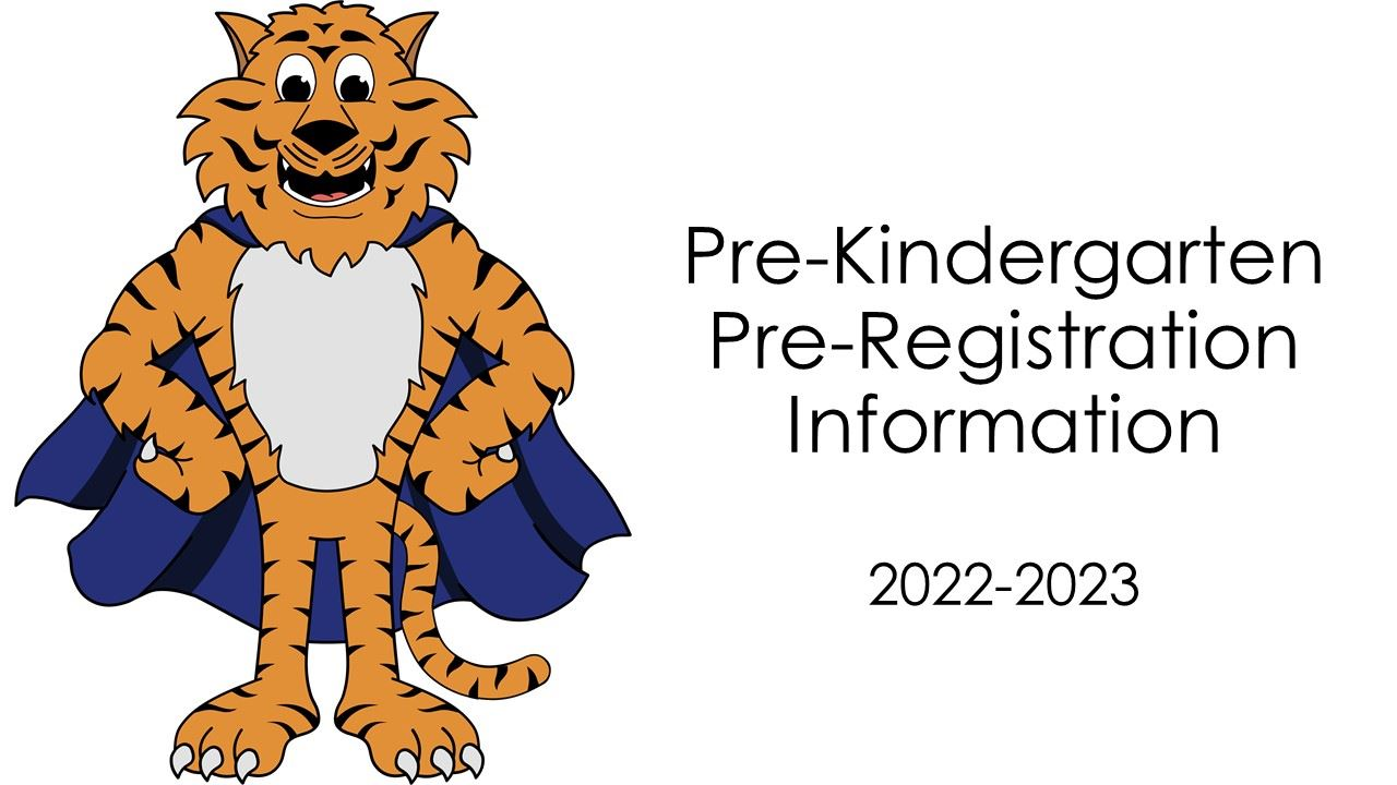 Pre-Kindergarten Registration