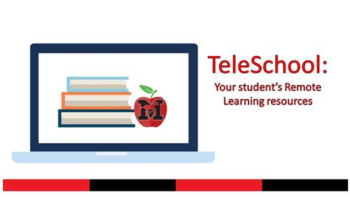 TeleSchool: Your student's Remote Learning resources graphic