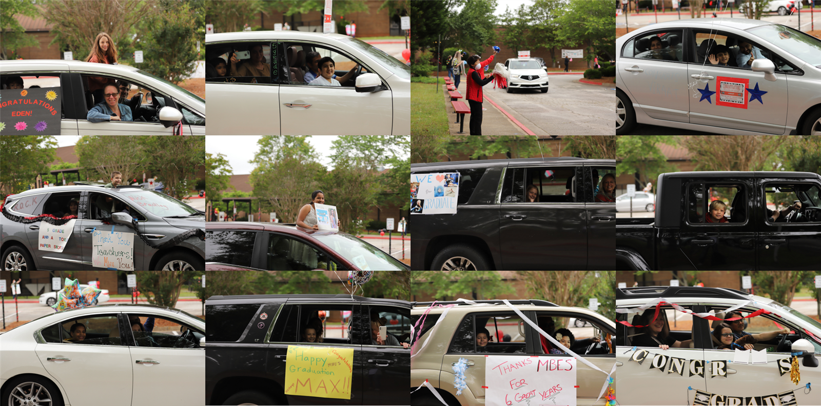 car parade collage 1