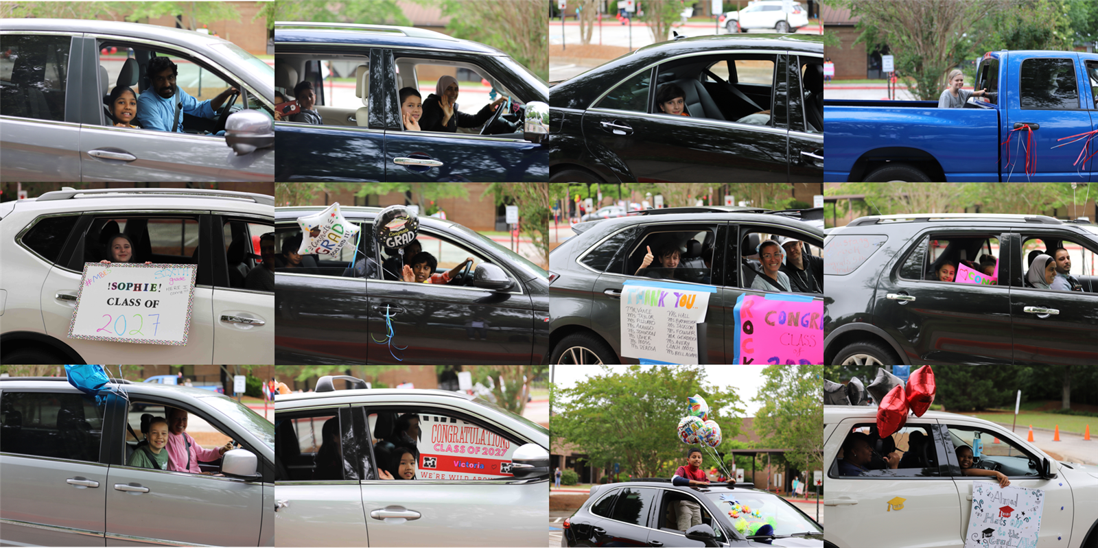 car parade collage 2