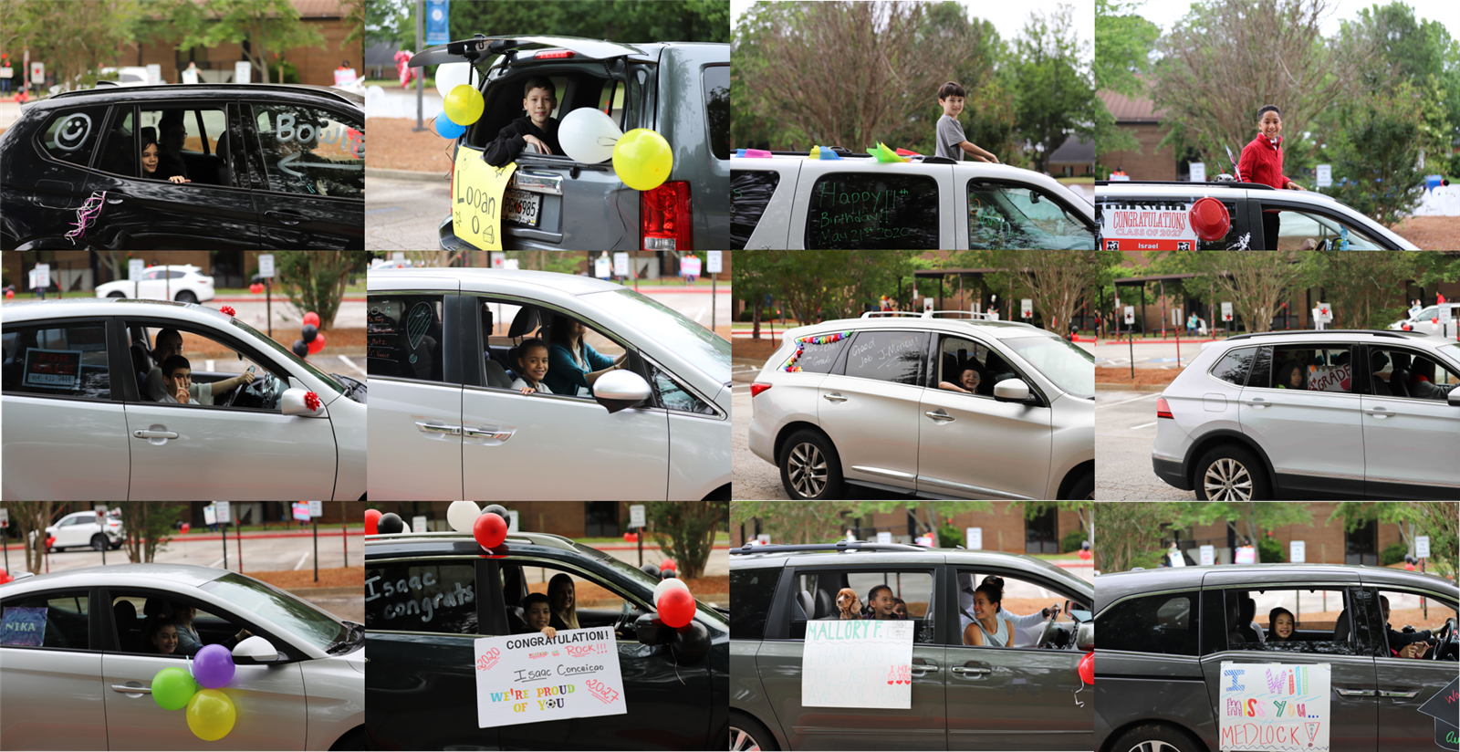 car parade collage 3