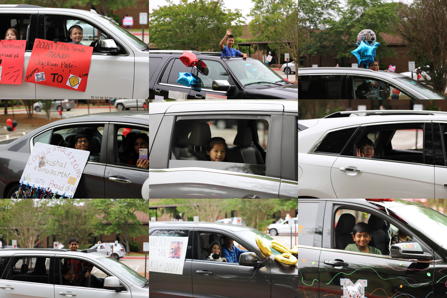 car parade collage 5