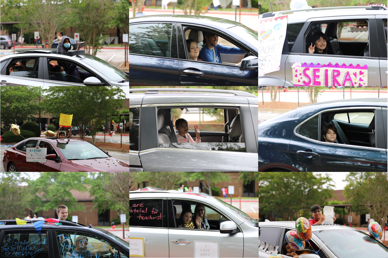 car parade collage 6