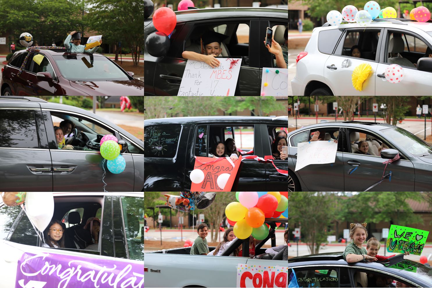 car parade collage 7