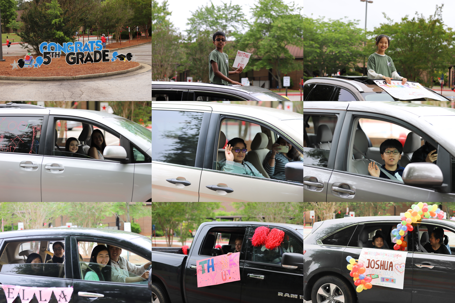 car parade collage 9