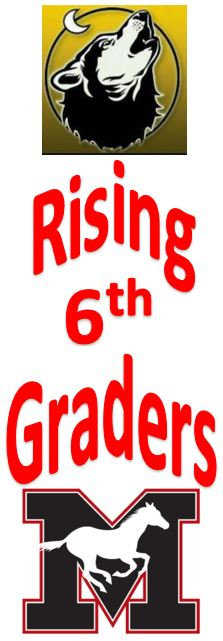 Rising 6th graders to River Trail MS