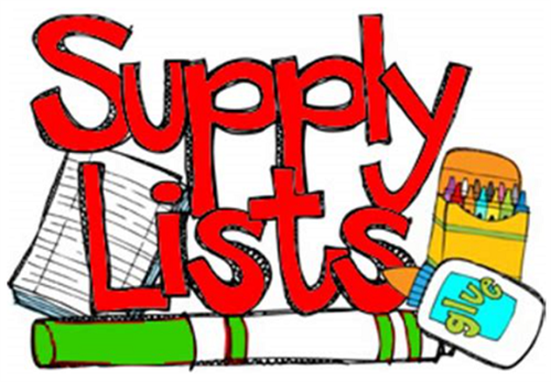 Supply Lists graphic