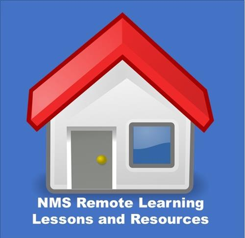 Remote Learning homepage