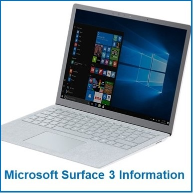 Microsoft Surface Information