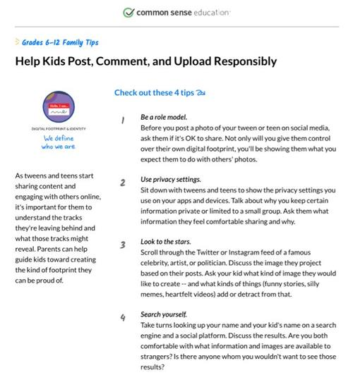 4 tips to help kids post responsibly on social media