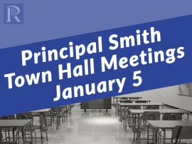 Principal Smith Town Hall meetings presentation & Student Commitment