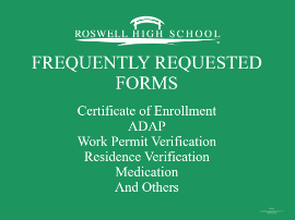 Frequently Requested Forms